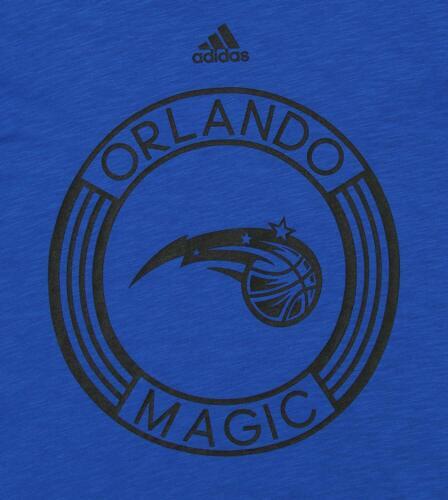 Adidas NBA Youth Orlando Magic 360 Short Sleeve Slub Tee Blue