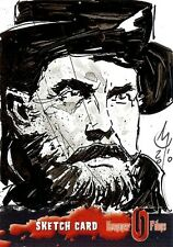 Hammer Horror Series 2 Sketch Card drawn by Clay McCormack /1