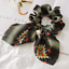 Solid-Floral-Bow-Scrunchie-Hair-Band-Elastic-Hair-Ties-Rope-Scarf-Accessories thumbnail 14