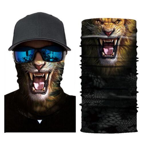 3D Animal Neck Gaiter Warmer Windproof Face  Scarf Ski Halloween Costume Hot