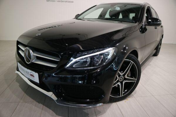 Mercedes C220 d 2,2 AMG Line stc. aut. billede 13