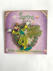 DLP-Disney-Paris-Swing-Into-Spring-Goofy-LE-600-Disney-Pin