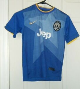 timeless design 17a71 8d48c Details about Juventus F.C.Nike Dri Fit Jersey Carlos Tevez #10 Blue Boys  size Small Used