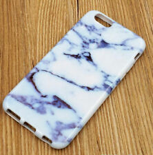 for iPhone 7 (4.7 inch) - TPU Rubber Gummy Case Skin Cover Marble Stone Patterns