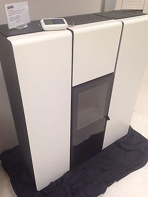 Mcz Flux Pellet Stretta Idro 15kw By Eurocamino Ebay