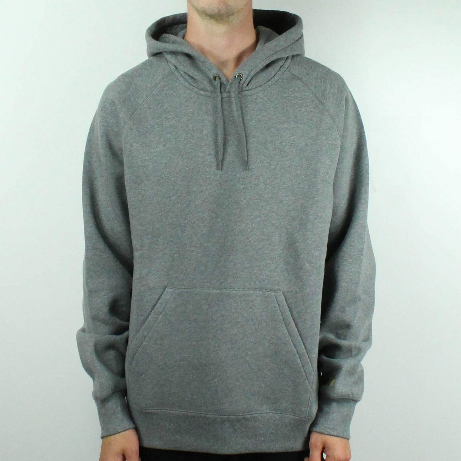 Carhartt Hooded Chase Sweatshirt Pullover in Dark Grau Brand New in S,M,L,XL
