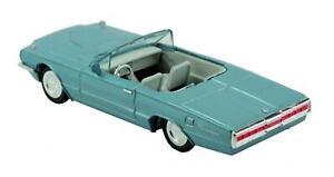 Newray-Diecast-Ford-Thunderbird-1966-Convertible-En-Azul-All-American-City