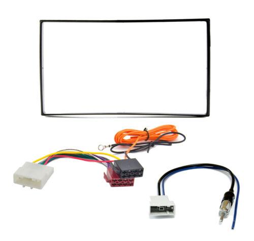 Radioblende Set NISSAN Juke Tiida Note Quashqai Doppel-DIN 2DIN Blende Adapter