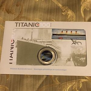 2012-Canada-R-M-S-Titanic-25-Cents-Philatelic-Numismatic-Cover-Coin-and-Stamp