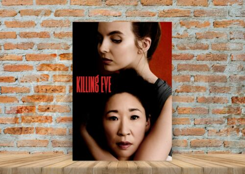 Killing Eve TV Show Poster Canvas Art Print Framed Option A3 A4