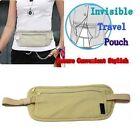 Travel Pouch Hidden ID Passport Holder Compact Security Money Waist Belt Bag 001