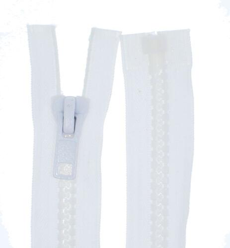Cremallera pzg Plastik grob dientes extramaß plástico cremalleras 8-9mm