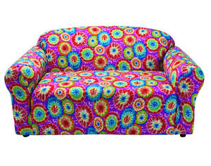 Image Is Loading Tie Dye Loveseat Cover Also Comes In Sofa
