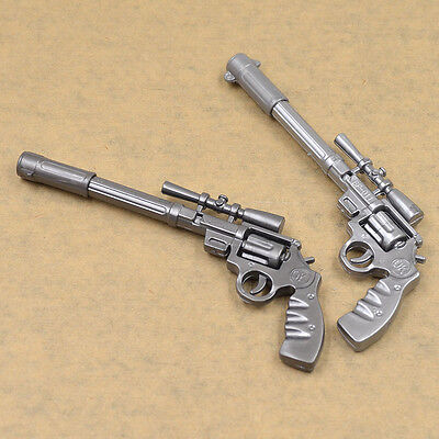 2pcs Gun Shaped Pen Funny Ballpoint Pen Creative Kids Student Stationery Gift