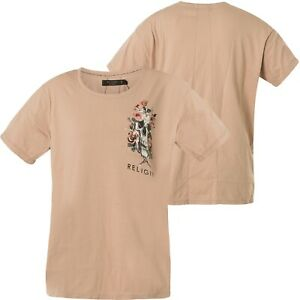Ashes Damen T Beige Religion Roses Crowded shirt Tee 59bcwt17 Of n1YwdqUw