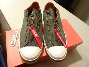 92fb39eb0ad1 NEW Undefeated x Edison Chen CLOT Converse Chuck Taylor ARMY GREEN ...
