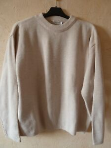 Pull Homme taille L blanc casse BLUE SPENCER