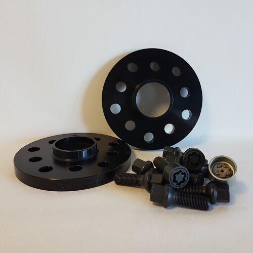 H/&R SPURVERBREITERUNG mit ABE 26mm schwarz MINI inkl Radschrauben+Felgenschloß