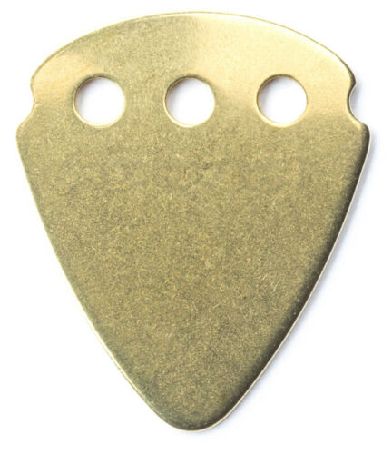 Stück JIM DUNLOP 467RBRS Teckpick brass Plektrum