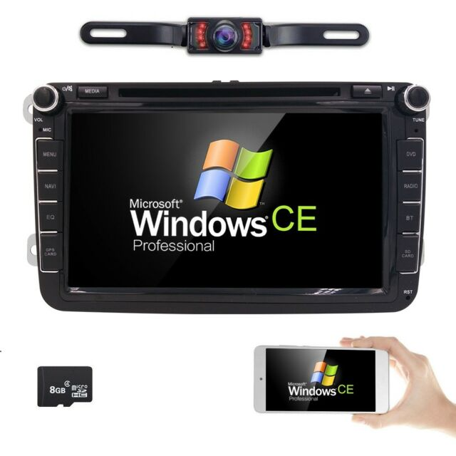 Hizpo 8\ Radio Stereo Multimedia Car Dvd Player Gps For Volkswagen Rhebay: Vw Eos Radio Gps At Gmaili.net