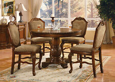 ACME Chateau De Ville counter height smaller table Cherry finish