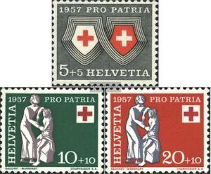 Schweiz-641-643-postfrisch-1957-Pro-Patria