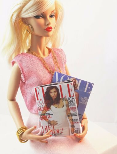 """Gene other 16/"""" dolls GQ with Russell Westbrook mini-magazine for Tonner"""