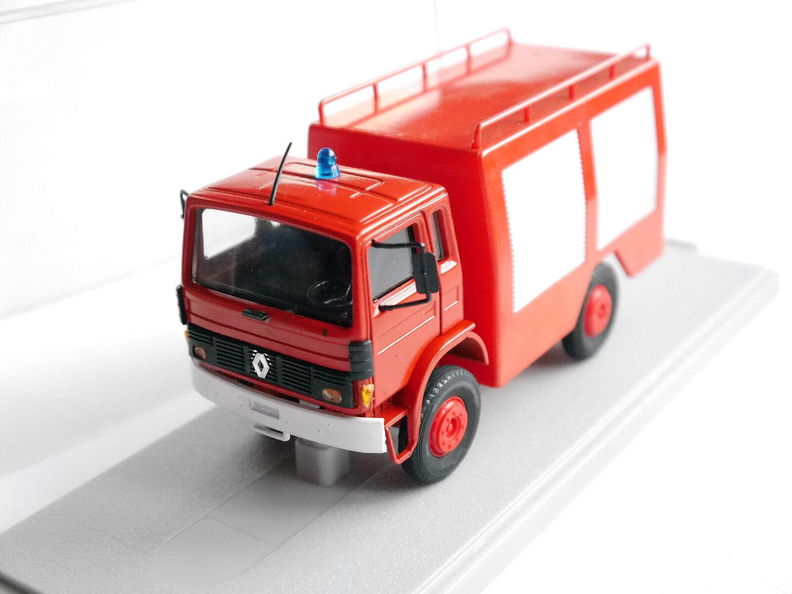 Renault rvi 4x4 Fire Engine bomberos Tlf Pompiers, replex 1 43 Boxed