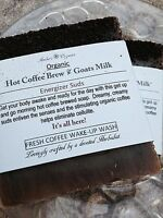 Organic 5 Hot Coffee Brew Energizer & Real Goats Milk Anti-cellulite Soap Sale