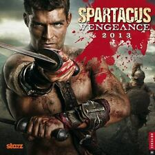 NEW - Spartacus 2013 Wall Calendar: Vengeance by STARZ