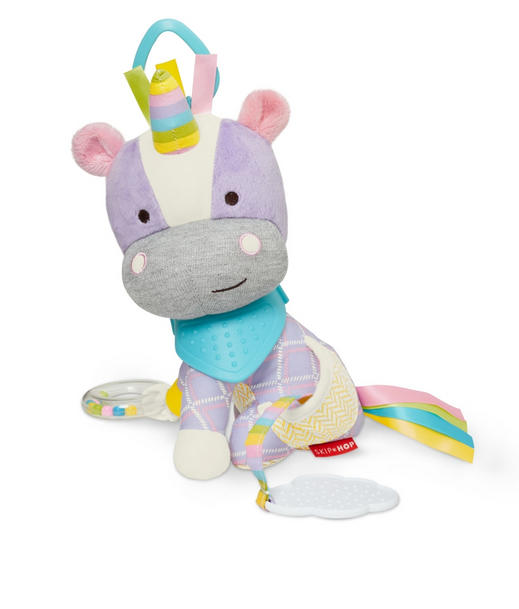 Brand new in bag Skip Hop bandana buddies activity toy unicorn suitable birth +