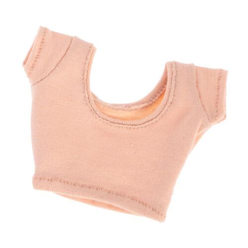 1:6 Puppe Kleidung   Kurzarm T Shirt Rundhals Bekleidung Puppe Zubehör