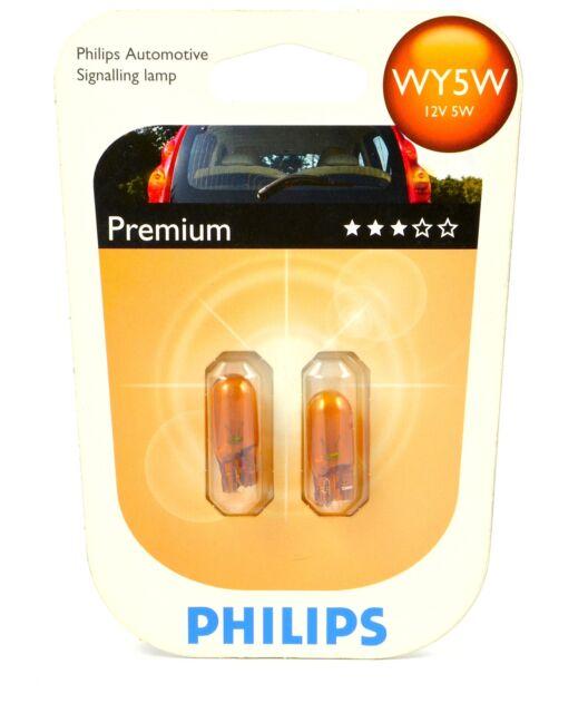 PHILIPS 12396NAB2 Glassockellampe Vision WY5W ++TOP PREIS++