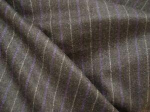 4-33-yd-English-Luxury-Wool-Cashmere-Flannel-Fabric-9-oz-Suiting-Char-156-034-BTP