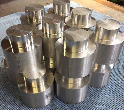 """3.25/"""" dia x 2.25/"""" lg  6061-T6 Aluminum round LOT OF 16"""