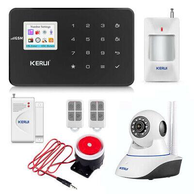 Kerui G18 Gsm Wireless Home Burglar Alarm Security System With Ip