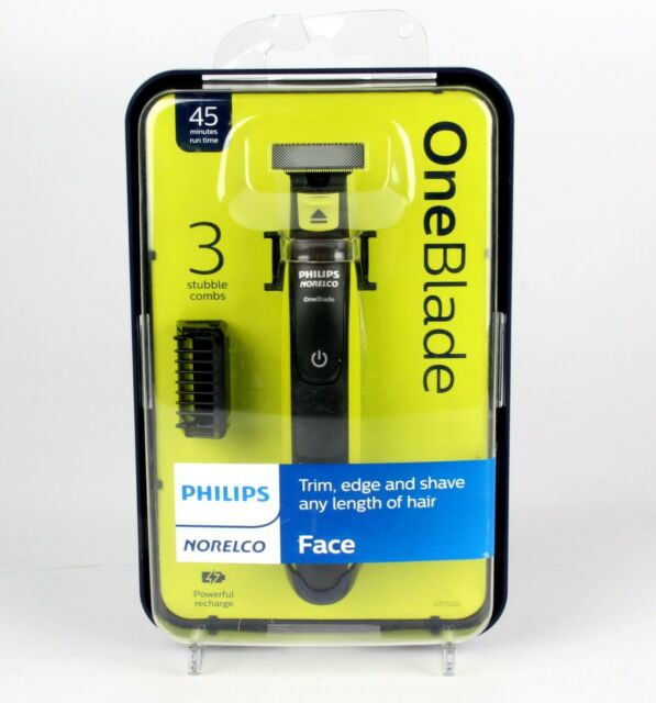 *Philips Norelco OneBlade Mens Electric Shaver Razor Face Trimmer QP2520/70