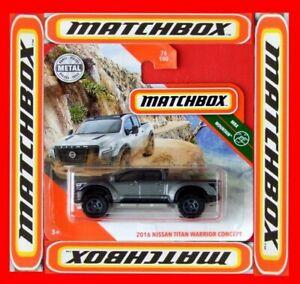 MATCHBOX-2020-2016-NISSAN-TITAN-WARRIOR-CONCEPT-76-100-NEU-amp-OVP
