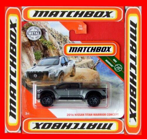 MATCHBOX 2020   2016 NISSAN TITAN WARRIOR CONCEPT   76//100   NEU/&OVP