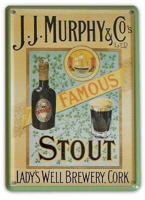 MURPHY/'S BAR Small Vintage Metal Tin Pub Sign