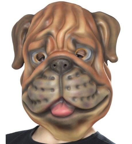 Childs EVA Dog Mask Fancy Dress Animal Foam Mask /& Elasticated Strap by Smiffys