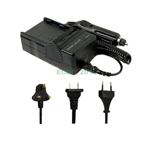 Battery Charger for Sony DSCW200 DSCH3 DSC-W30 DSC-W35 NP-BG1 Cybershot W80 W55