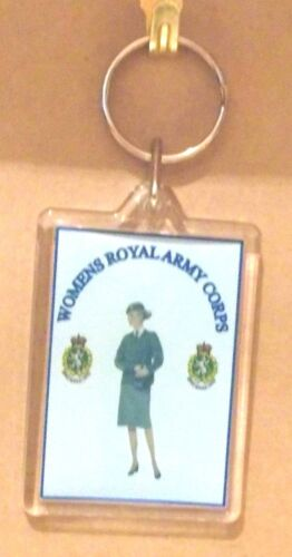 Women/'s Royal Army Corps key ring..