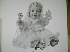 "DANBURY MINT COLLECTION PORCELAIN DOLL ""TRACY"" BY ELKE HUTCHENS NIB"