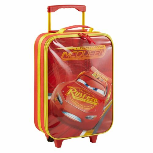 Disney Cars Kinderkoffer Koffer Trolley Kinder Handgepäck Tasche Kindertrolley