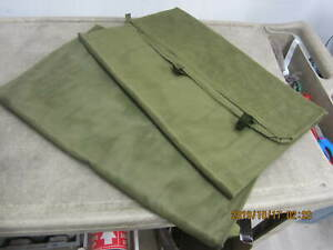 LARGE US Military Mosquito Insect Net Mosquito Field Bar Netting Cot Tent VGC