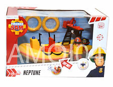 Fireman Sam New Neptune Speed Boat Rescue Vehicle with Sound & Figurine *New