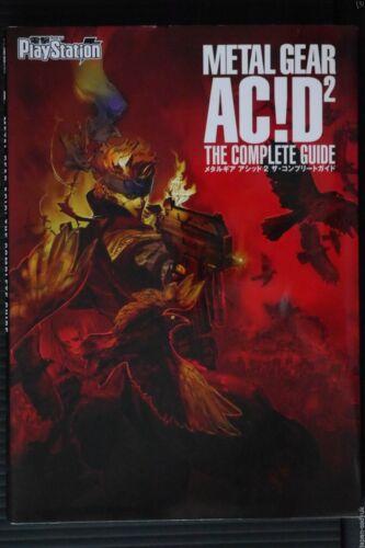JAPAN Metal Gear Acid 2 The Complete Guide