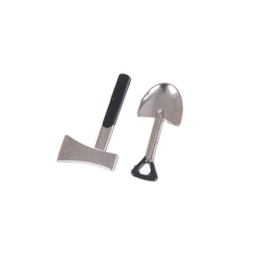 4pcs 1:12 Dollhouse Accessories Tool Handmade DIY Doll House Mini Tools Set TEUS