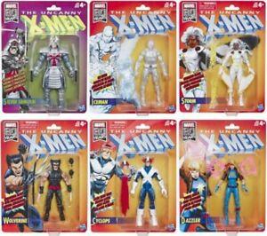 Marvel-Legends-X-Men-Retro-Wave-1-Set-of-6-Action-Figures-6-Inch-XMEN-IN-STOCK